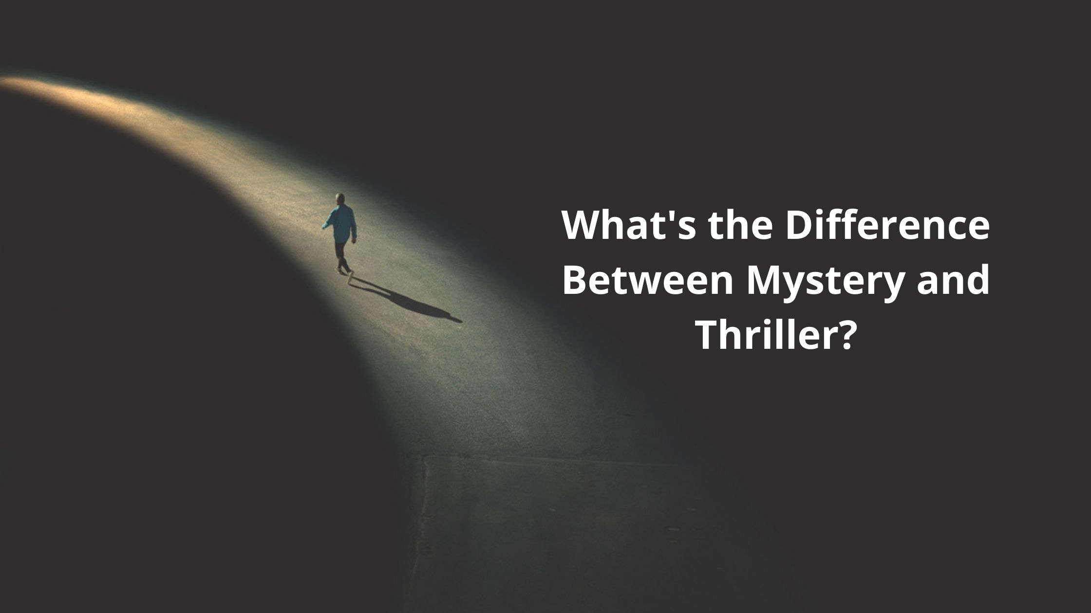 What's the difference between mystery and thriller